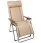 SUNGÖRL Relaxliege »Oasi Daydreamer«, 3D Mesh/Stahl/Holz, Stufenlos verstellbar/Klappfunktion-Thumbnail