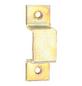 GECCO Riegelschlaufe mit flachem Griff Stahl 15 x 7 mm 4 St.-Thumbnail