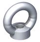alfer® aluminium Ringmutter, M8, Silber, Stahl-Thumbnail