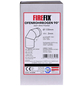FIREFIX® Rohrbogen, Ø: 12 cm, Stärke: 2 mm, Stahl-Thumbnail