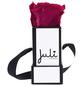 JULI FLOWERS Rosenbox, pink, Größe: Mini mit 1 Rose, quadratisch-Thumbnail