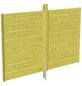 SKANHOLZ Rückwand, Breite: 78,5 cm, grün-Thumbnail