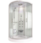 HOME DELUXE Runddusche »White Pearl«, Abgerundet-Thumbnail