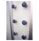 HOME DELUXE Runddusche »White Pearl«, B x H x T: 100 x 220 x 100 cm-Thumbnail