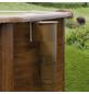 GRE Rundpool, braun, ØxH: 350 x 120 cm-Thumbnail