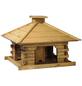 DOBAR Rustikales Vogelhaus mit Holzdach-Thumbnail