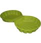 Sand-Wasser-Muschel, BxL: 88 x 88 cm, Polyethylen (PE) grün-Thumbnail