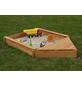 PROMADINO Sandkasten-Bugbox »Multi«, BxLxH: 140x120x22 cm-Thumbnail