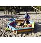 PROMADINO Sandkasten »Fynja«, BxL: 173 x 148 cm, Kiefernholz anthrazit-Thumbnail
