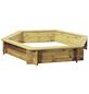TraumGarten Sandkasten »INGAR «, BxLxH: 192x192x31 cm cm-Thumbnail
