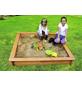 PROMADINO Sandkasten »Jonas«, BxLxH: 120x120x22 cm-Thumbnail