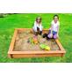 PROMADINO Sandkasten »Leonie«, BxLxH: 100x100x22 cm-Thumbnail