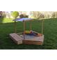 PROMADINO Sandkasten »Multi«, BxL: 172 x 260 cm, Kiefernholz honigbraun-Thumbnail