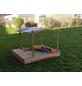 PROMADINO Sandkasten »Multi Plus«, BxL: 172 x 140 cm, Kiefernholz honigbraun-Thumbnail
