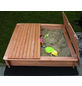 PROMADINO Sandkasten »Tessa«, BxL: 140 x 140 cm, Kiefernholz honigbraun-Thumbnail
