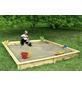 PROMADINO Sandkasten »Yanick«, BxLxH: 225x225x21 cm-Thumbnail