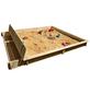 PROMADINO Sandkasten »Yanick«, BxLxH: 248x225x21 cm-Thumbnail