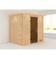 WOODFEELING Sauna »Anja«, BxTxH: 224 x 184 x 202 cm, ohne Saunaofen-Thumbnail