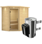 KARIBU Sauna »Baldohn«, mit Ofen, integrierte Steuerung-Thumbnail