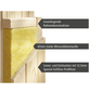 KARIBU Sauna »Elva 4« mit Ofen, externe Steuerung-Thumbnail
