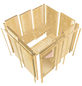 KARIBU Sauna »Elva 4«, mit Ofen, externe Steuerung-Thumbnail