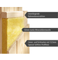 WOODFEELING Sauna »Faurin«, BxTxH: 170 x 151 x 151 cm, 9 kw, Bio-Kombi-Saunaofen, ext. Steuerung-Thumbnail