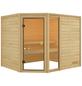 WOODFEELING Sauna »Fjella«, für 4 Personen ohne Ofen-Thumbnail