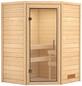 WOODFEELING Sauna »Franka«, BxTxH: 146 x 146 x 198 cm, ohne Saunaofen-Thumbnail
