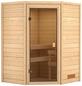 WOODFEELING Sauna »Franka«, für 3 Personen ohne Ofen-Thumbnail