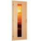 WOODFEELING Sauna »Franka«, inkl. 9 kW Saunaofen mit externer Steuerung für 3 Personen-Thumbnail