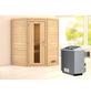WOODFEELING Sauna »Franka« mit Ofen, integrierte Steuerung-Thumbnail
