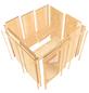 KARIBU Sauna »Haaspsalu«, BxTxH: 231 x 196 x 198 cm, ohne Saunaofen-Thumbnail