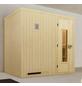 WEKA Sauna »Halmstad Gr.2« für 3 Personen ohne Ofen-Thumbnail