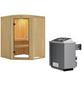 KARIBU Sauna »Jögeva«, mit Ofen, integrierte Steuerung-Thumbnail