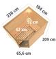 KARIBU Sauna »Kärdla« mit Ofen, integrierte Steuerung-Thumbnail