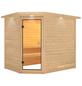 KARIBU Sauna »Kärdla«, ohne Ofen-Thumbnail