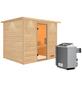 WOODFEELING Sauna »Karla« mit Ofen, integrierte Steuerung-Thumbnail