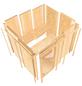 KARIBU Sauna »Keila 1«, BxTxH: 196 x 196 x 196 cm, 9 kw, Saunaofen, ext. Steuerung-Thumbnail