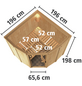 KARIBU Sauna »Keila 1«, mit Ofen, externe Steuerung-Thumbnail