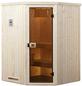 WEKA Sauna »KIRUNA 1« mit Ofen, externe Steuerung-Thumbnail