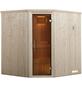 WEKA Sauna »KIRUNA 2«, mit Ofen, externe Steuerung-Thumbnail