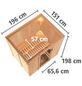 KARIBU Sauna »Kothla«, inkl. 9 kW Bio-Kombi-Saunaofen mit externer Steuerung für 3 Personen-Thumbnail