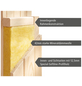 KARIBU Sauna »Kothla«, mit Ofen, externe Steuerung-Thumbnail