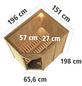 KARIBU Sauna »Lavea« mit Ofen, externe Steuerung-Thumbnail