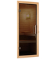 WOODFEELING Sauna »Leona«, inkl. 9 kW Saunaofen mit externer Steuerung für 4 Personen-Thumbnail