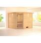 WOODFEELING Sauna »Leona«, ohne Ofen-Thumbnail