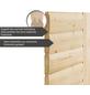 KARIBU Sauna »Libau«, inkl. 9 kW Saunaofen mit integrierter Steuerung für 3 Personen-Thumbnail