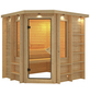 KARIBU Sauna »Libau« ohne Ofen-Thumbnail