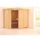 KARIBU Sauna »Maardu«, für 3 Personen ohne Ofen-Thumbnail
