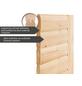 WOODFEELING Sauna »Malyn« inkl. 4.5 kW Bio-Kombi-Saunaofen mit externer Steuerung für 4 Personen-Thumbnail